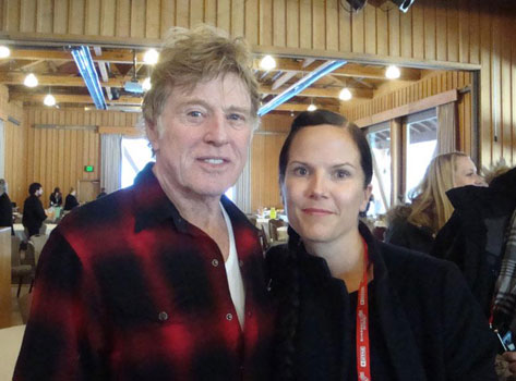 Robert Redford & Malin Erixon